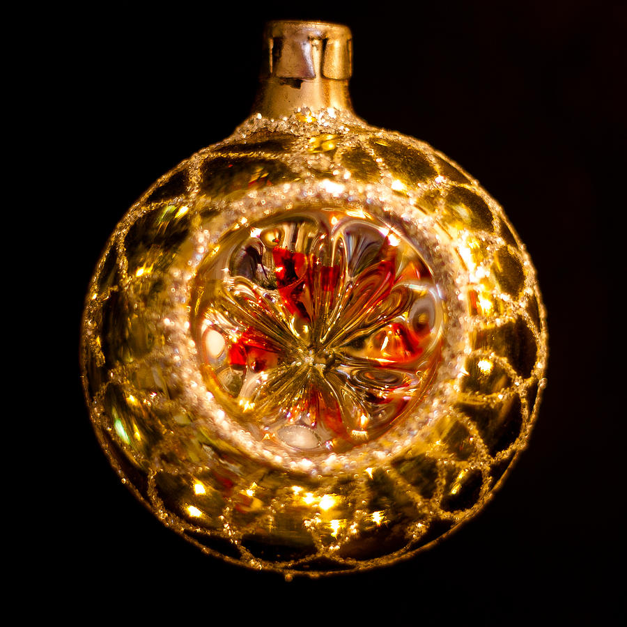 Vintage Christmas Ornament Photograph By David Patterson