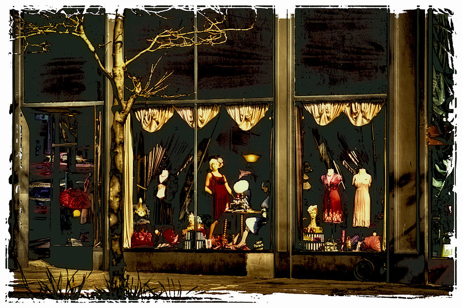 Vintage Clothing Store - Pioneer Square Photograph by David Patterson