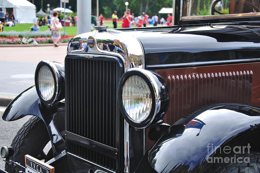 Dodge Photograph - Vintage Dodge - Circa 1930s by Kaye Menner