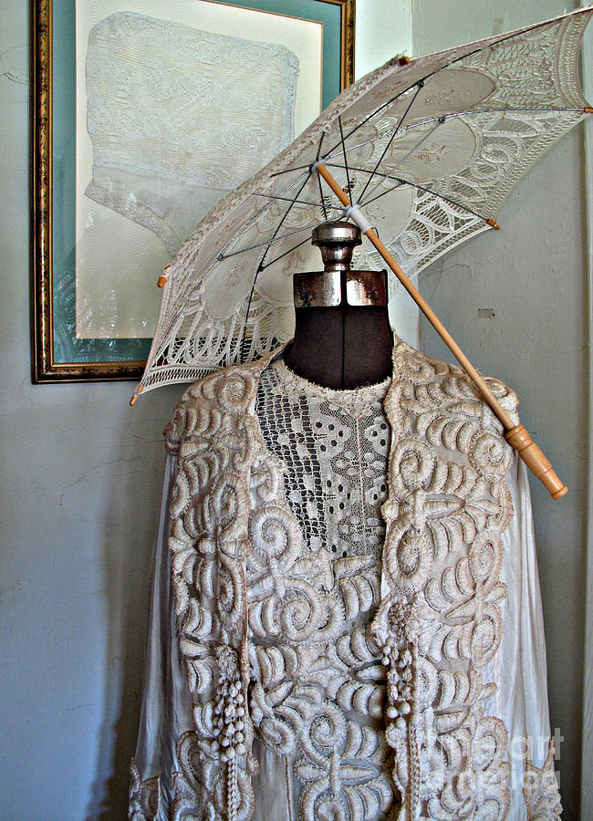 Vintage Dress Photograph - Vintage Fashion by Louise Peardon