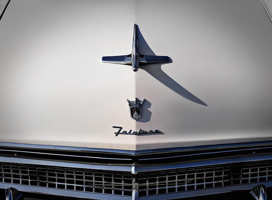 Classic Digital Art - Vintage Ford Fairlane Hood Ornament by Douglas Pittman