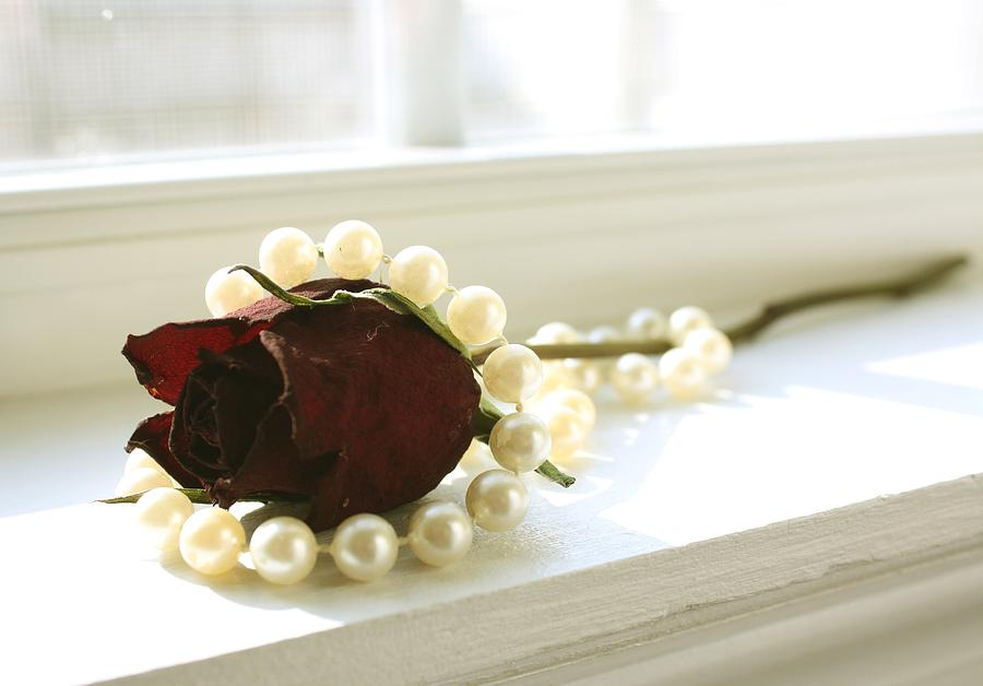 Flower Photograph - Vintage Love by Bethany Fulford