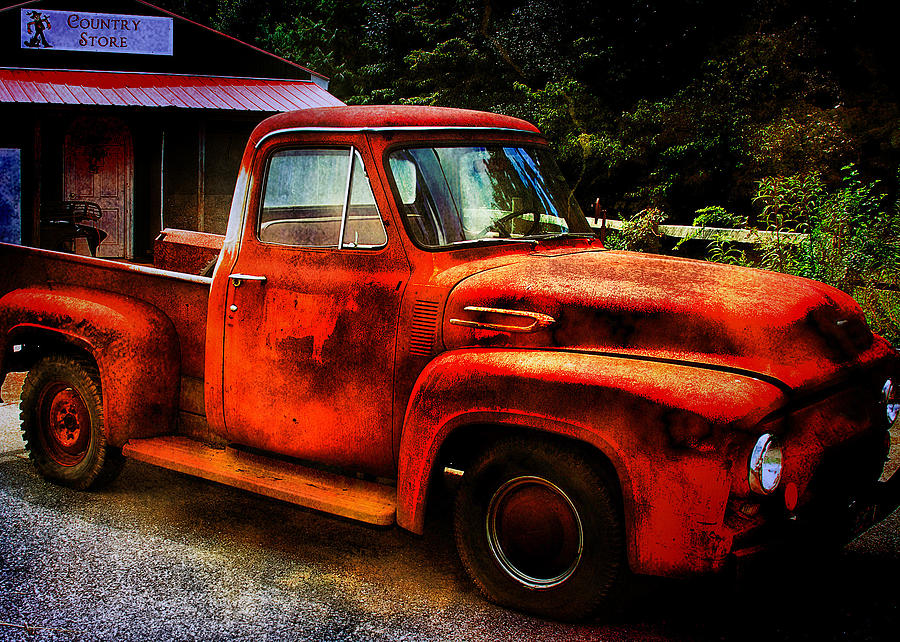 Vintage Pickup Truck Photograph by Trudy Wilkerson