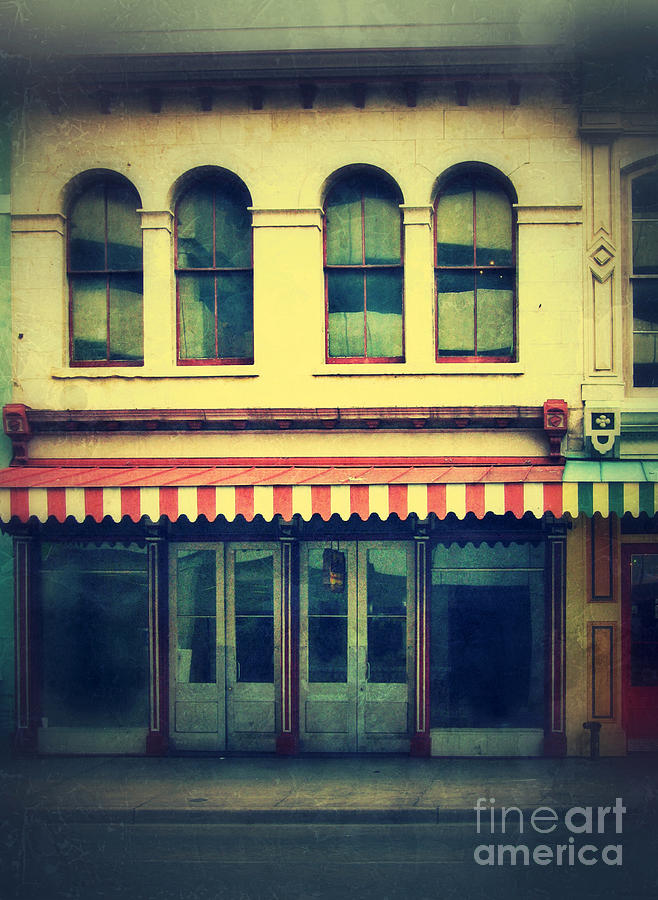 Store Photograph - Vintage Store Fronts by Jill Battaglia
