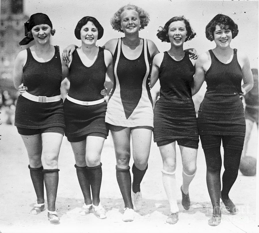Vintage Swimwear Photograph - Vintage Swimwear by Padre Art