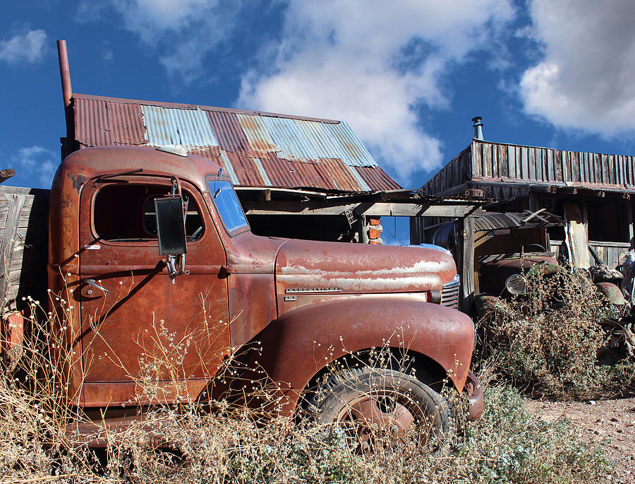 Kb5 Photograph - Vintage Truck by Paul Fell