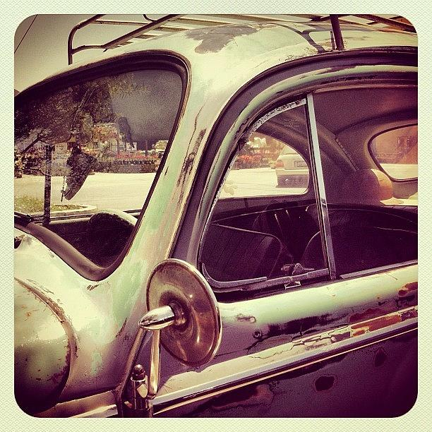 Volkswagon Photograph - Vintage VW by Gwyn Newcombe