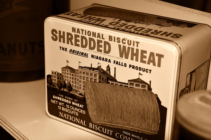 Shredded Wheat Photograph - Vintage Wheat by David Lee Thompson