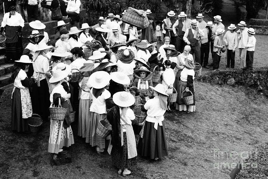 Azores Photograph - Vintage Workers by Gaspar Avila