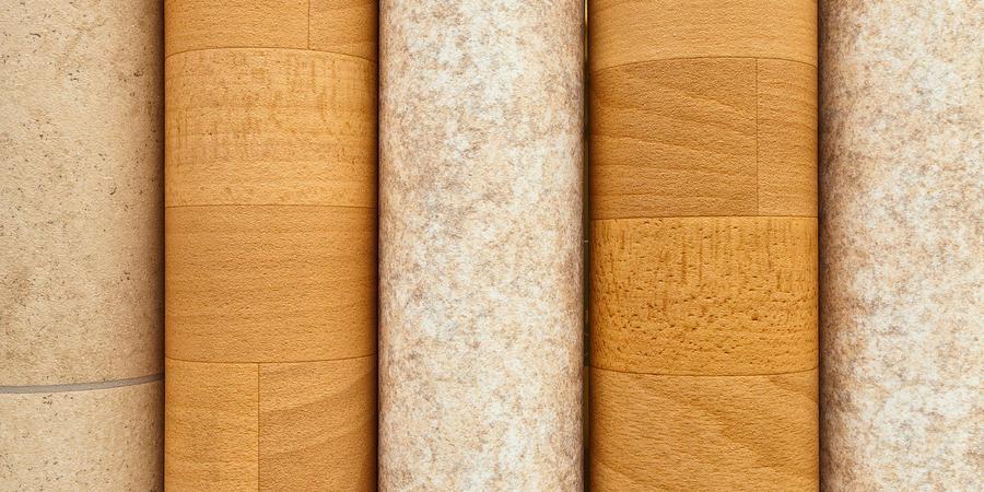 Background Photograph - Vinyl Flooring by Tom Gowanlock