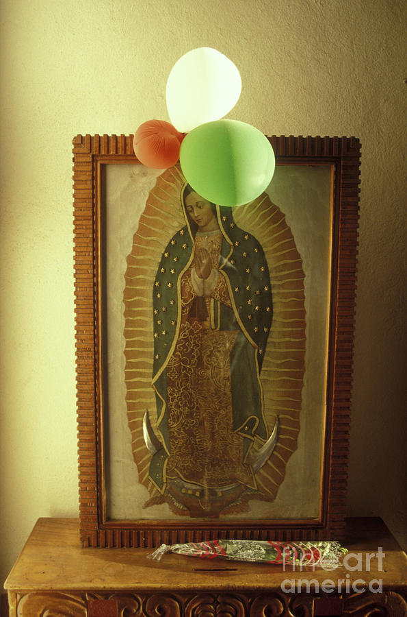 Virgin Of Guadalupe Mexico Photograph