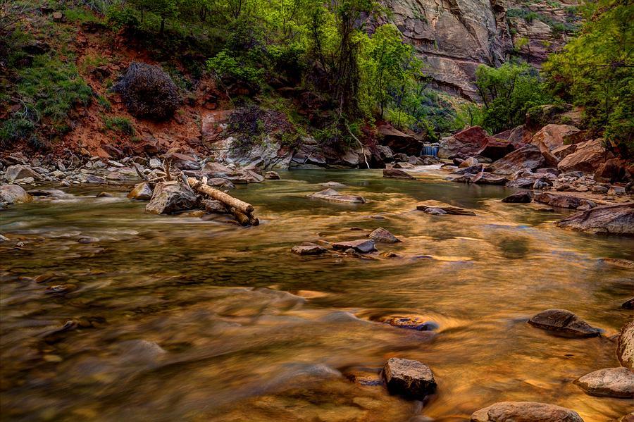 Virgin River Zion Photograph