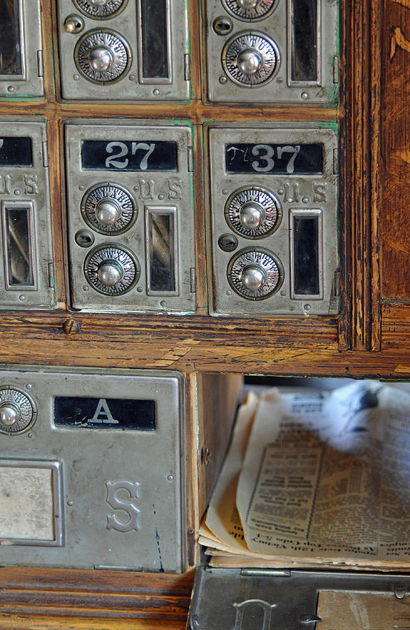 Virginia City Photograph - Virginia City Post Office Box by Bruce Gourley