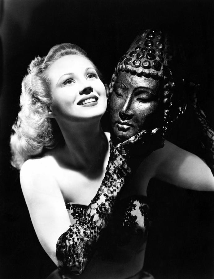 Mask Photograph - Virginia Mayo, Ca. Early 1940s by Everett