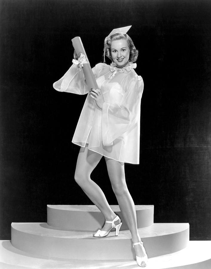 1940s Portraits Photograph - Virginia Mayo, Ca. Late 1940s by Everett