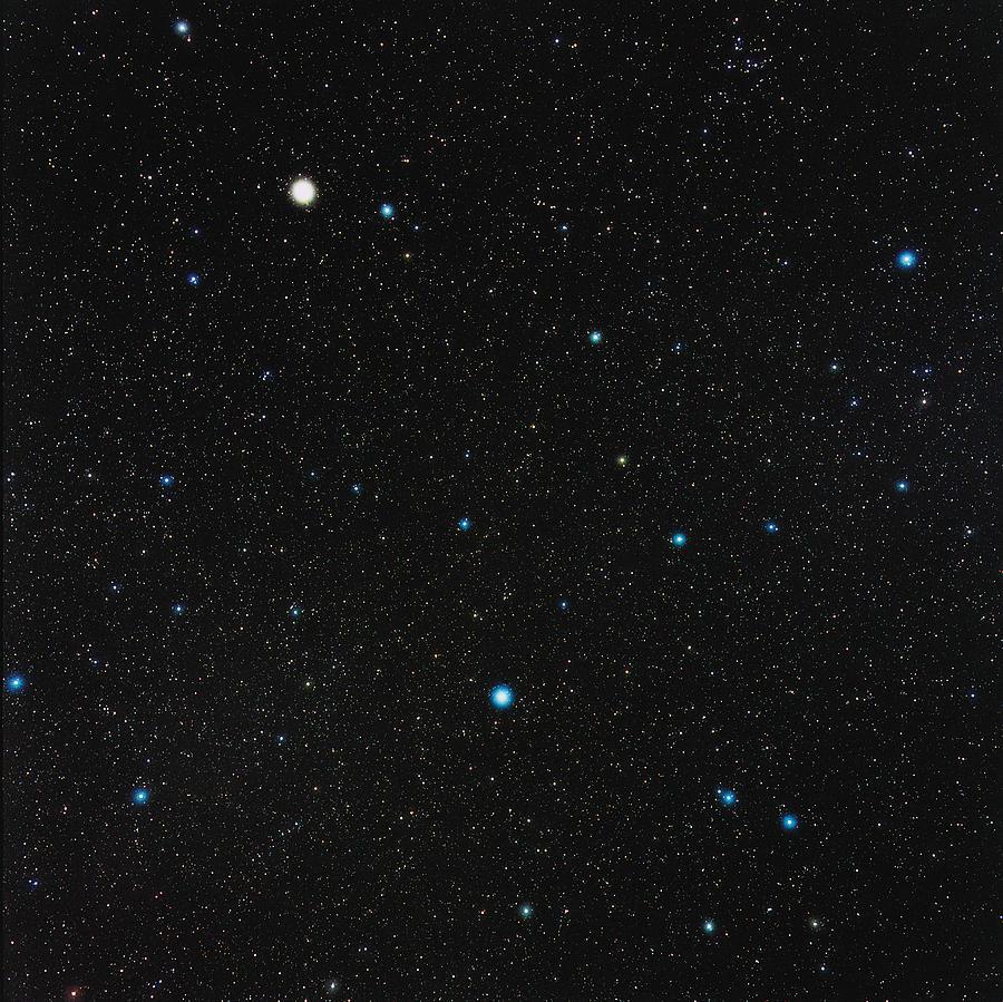 Virgo Constellation Photograph by Eckhard Slawik