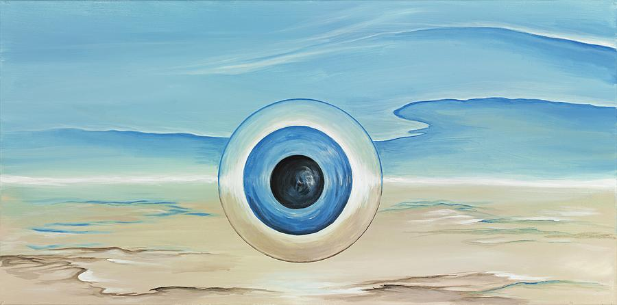 Blue Painting - Vision Thing by David Junod