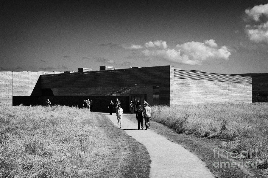 Visitors Photograph - visitors centre at Culloden moor battlefield site highlands scotland by Joe Fox