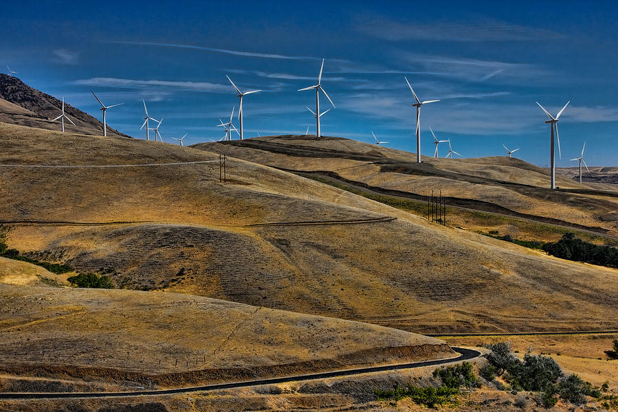 Windmills Photograph - Visual Pollution by Tim Perry