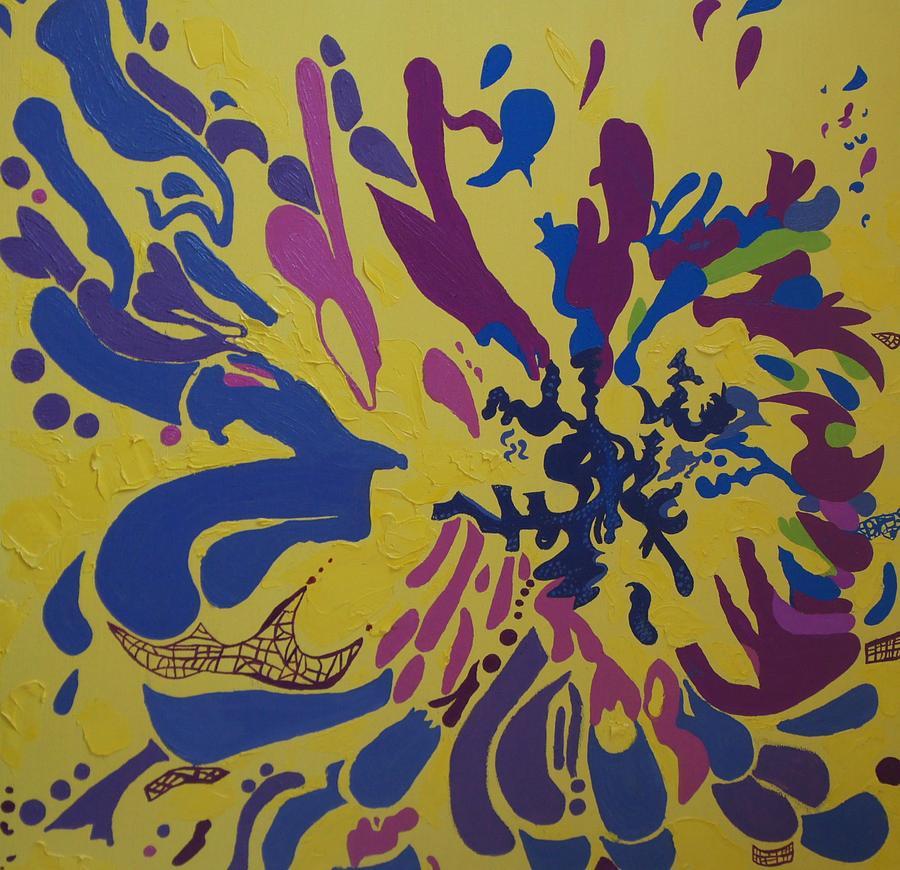 Vitality Nine Painting by Amanacer Originals