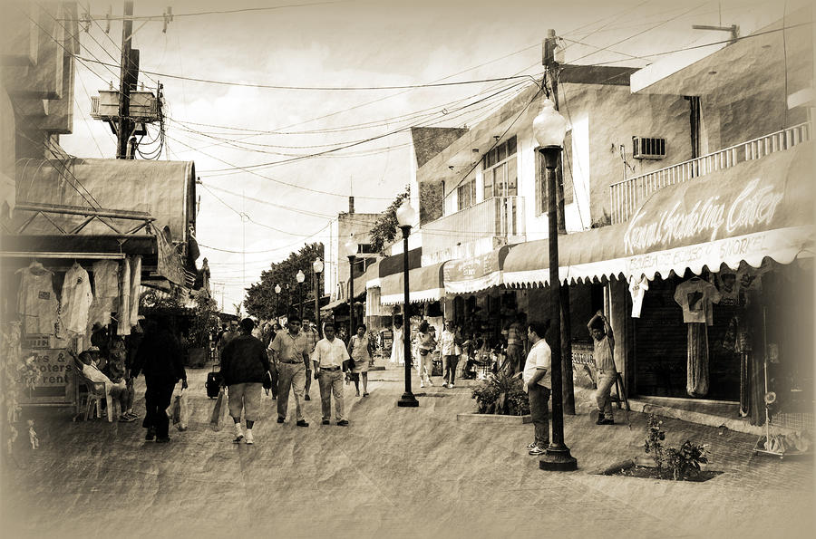 Cozumel Photograph - Viva Mexico by Barry Jones
