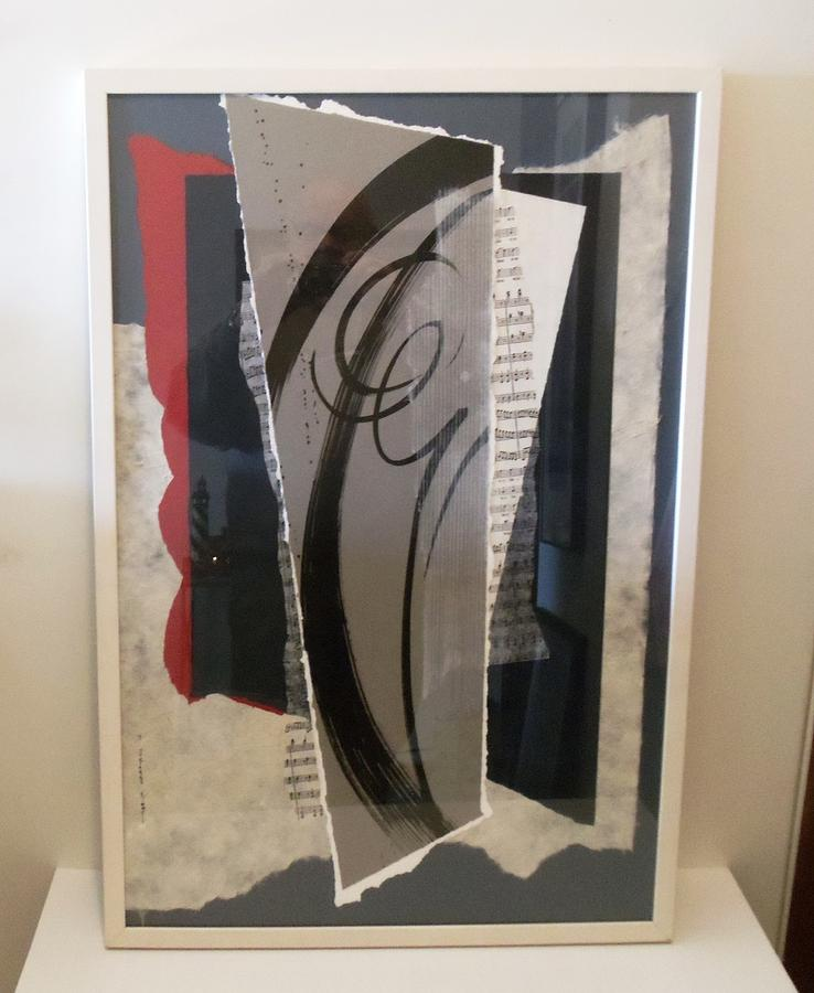 Abstract Mixed Media - Vivace by Susan Steinhaus Kimmel