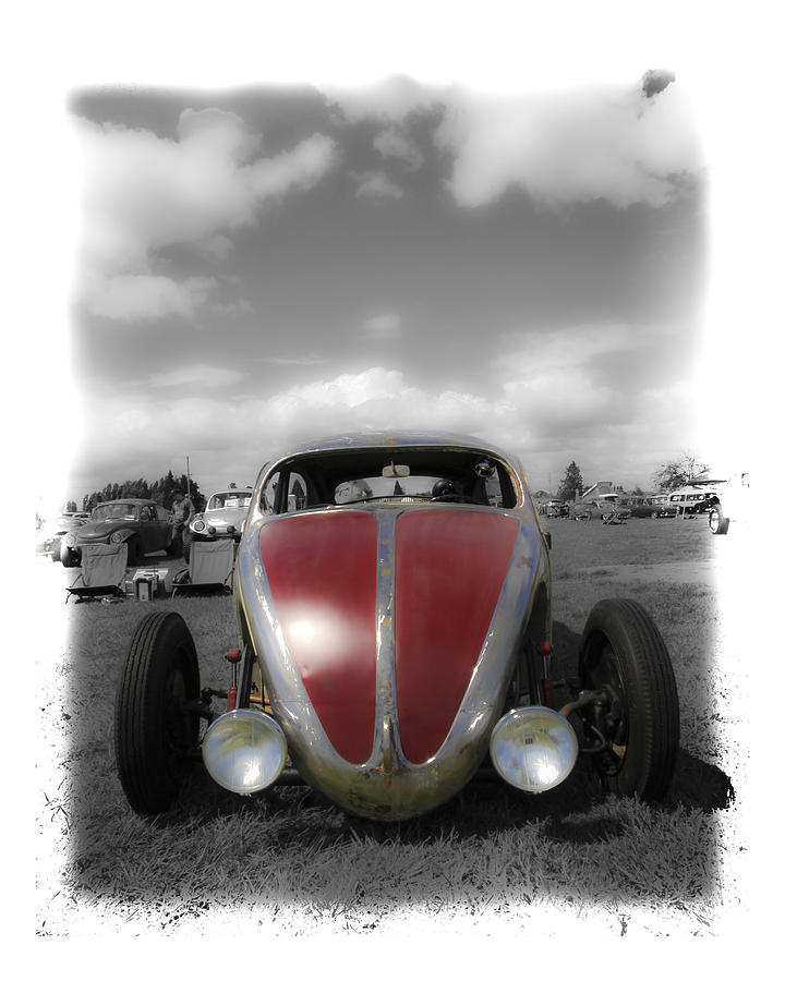 Vw Bug Photograph - Volksrod Fade by Steve McKinzie