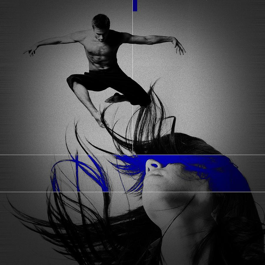 Lovers Digital Art - Voyage by Naxart Studio