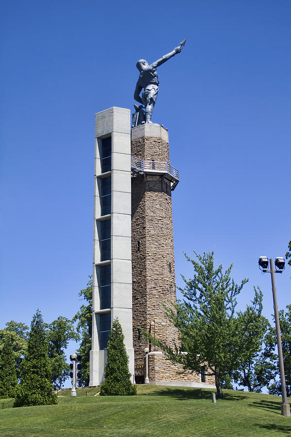 Vulcan Park Statue In Birmingham Photograph By Kathy Clark