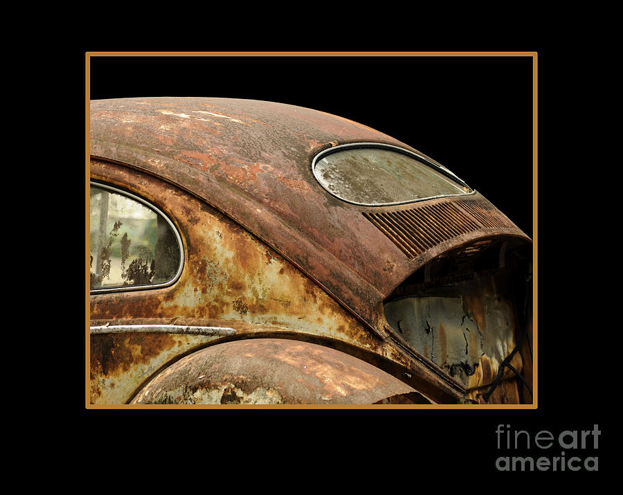 vw rust bug photograph by nancy greenland. Black Bedroom Furniture Sets. Home Design Ideas