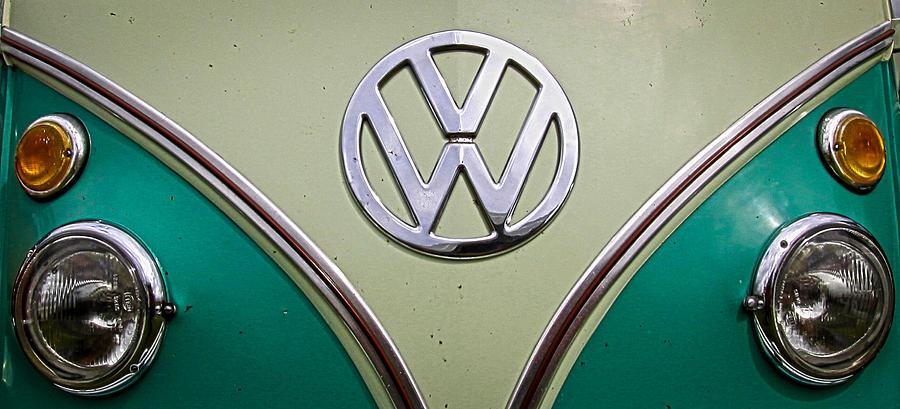 Volkswagen Photograph - Vw Van  by Steve McKinzie