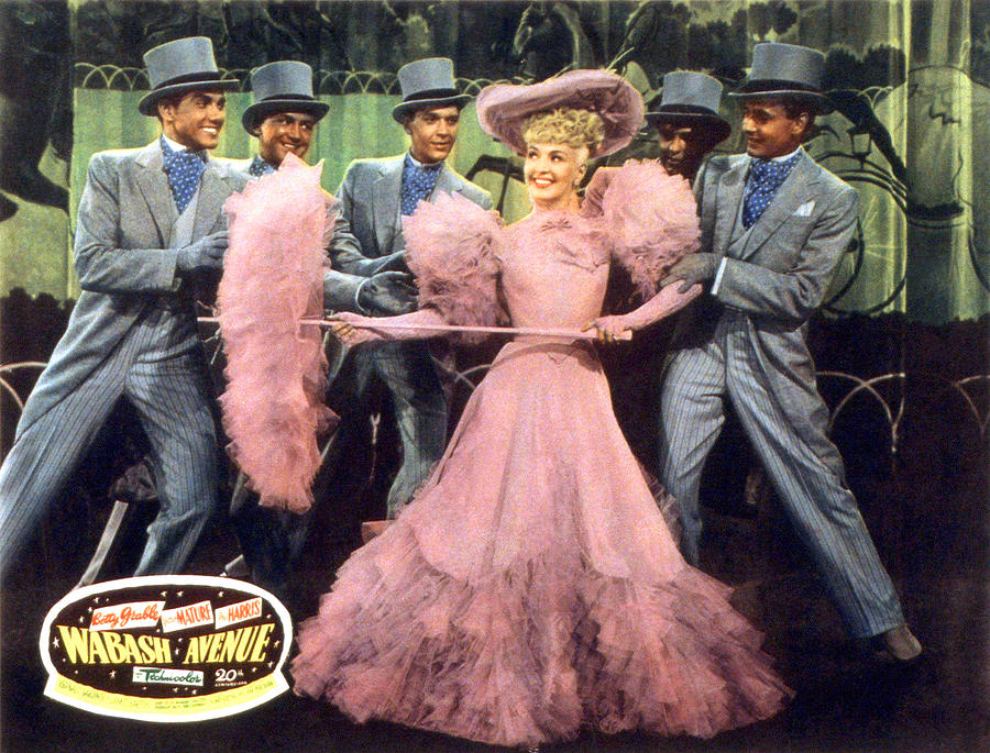 1950 Movies Photograph - Wabash Avenue, Betty Grable, 1950 by Everett