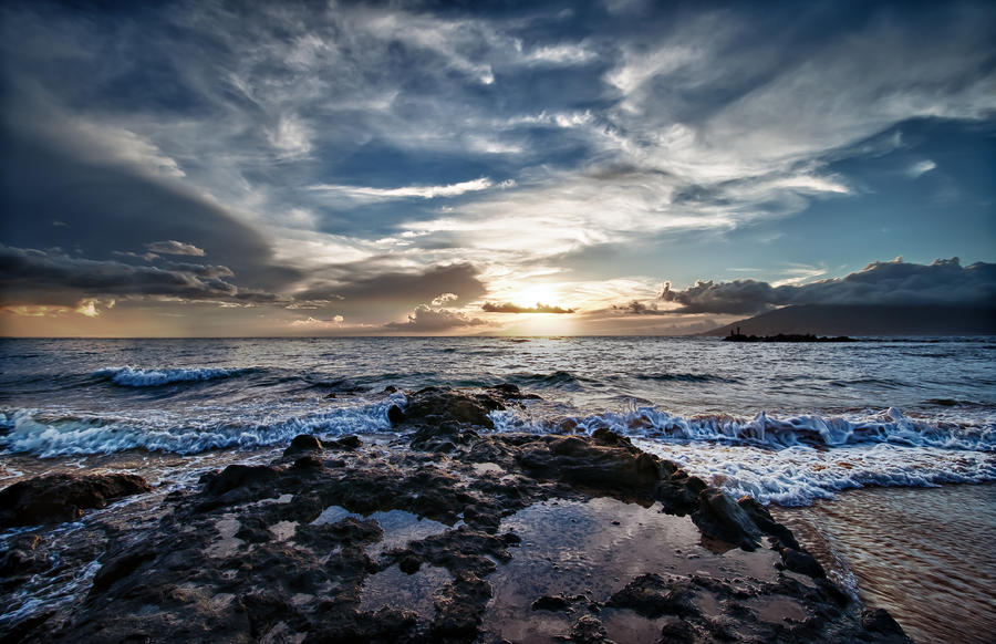Wailea Sunset by John Maffei