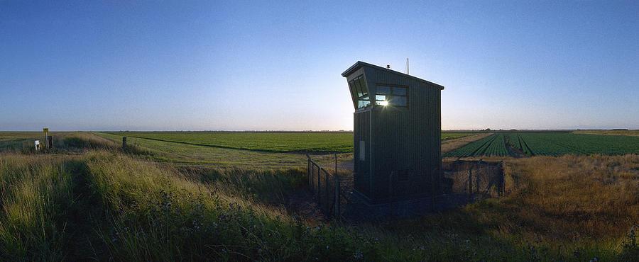 Raf Photograph - Wainfleet Control Tower by Jan W Faul