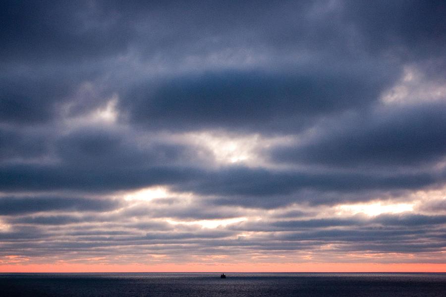 Clouds Photograph - Wait by Arturo Evening