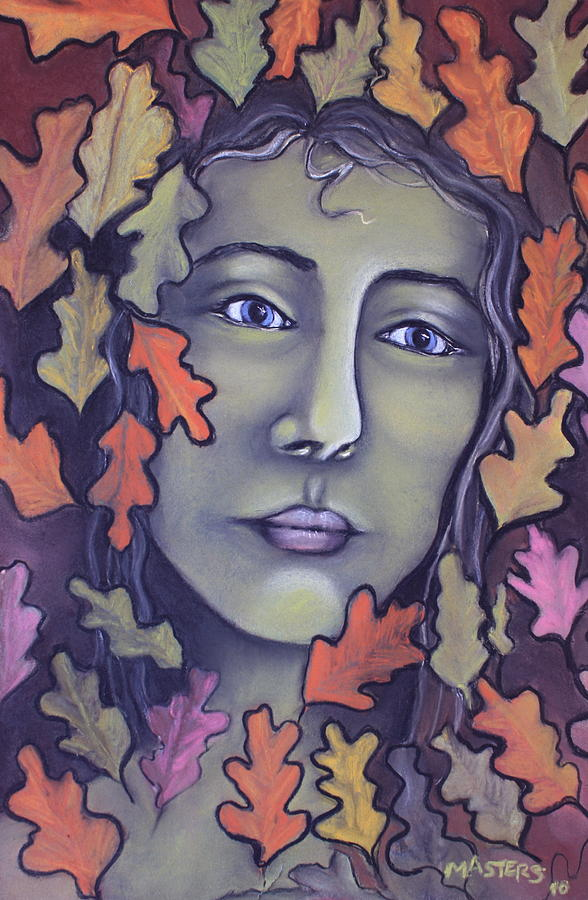 Portrait Painting - Waiting Again by Lisa Masters