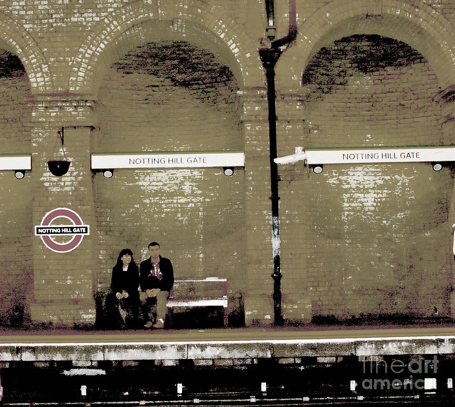 Notting Hill Gate Photograph - Waiting  by Beth Saffer