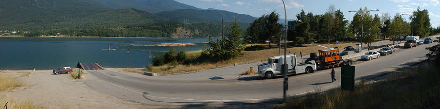British Columbia Photograph - Waiting For The Ferry In Bc by Michael Heaton
