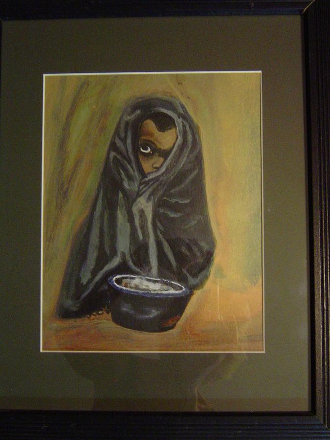 Original Painting - Waiting My Turn by Connie Carleton