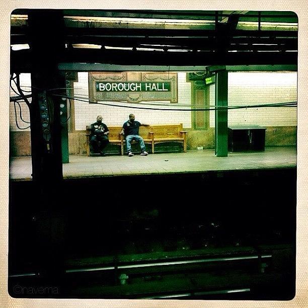 Nycsubway Photograph - ...waiting by Natasha Marco