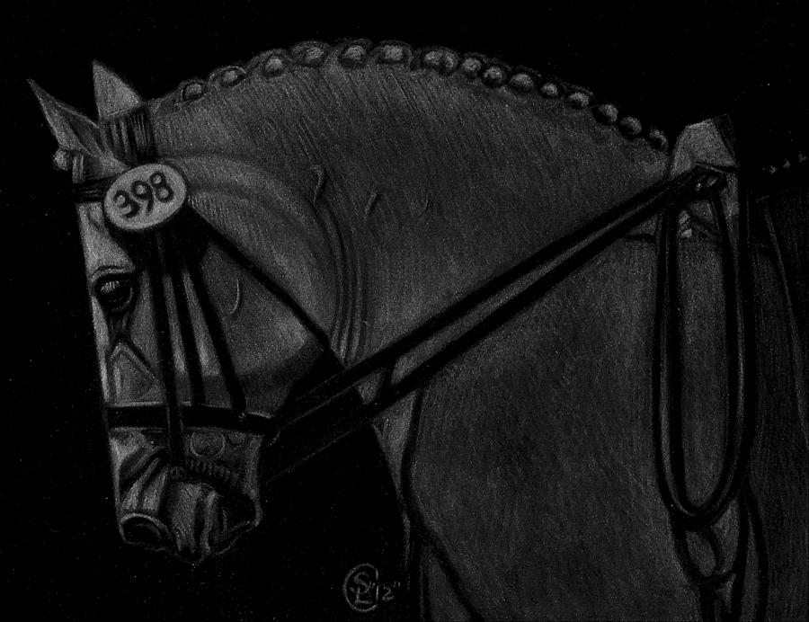 Horse Paintings Painting - Waiting by Stephanie L Carr