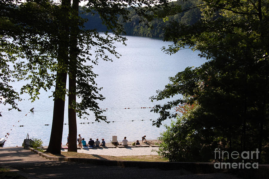 Walden Pond Photograph - Walden Pond by John Small