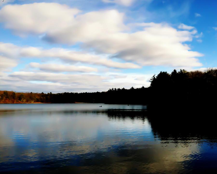 Walden Pond Photograph - Walden Pond Reverie  by Frank Winters