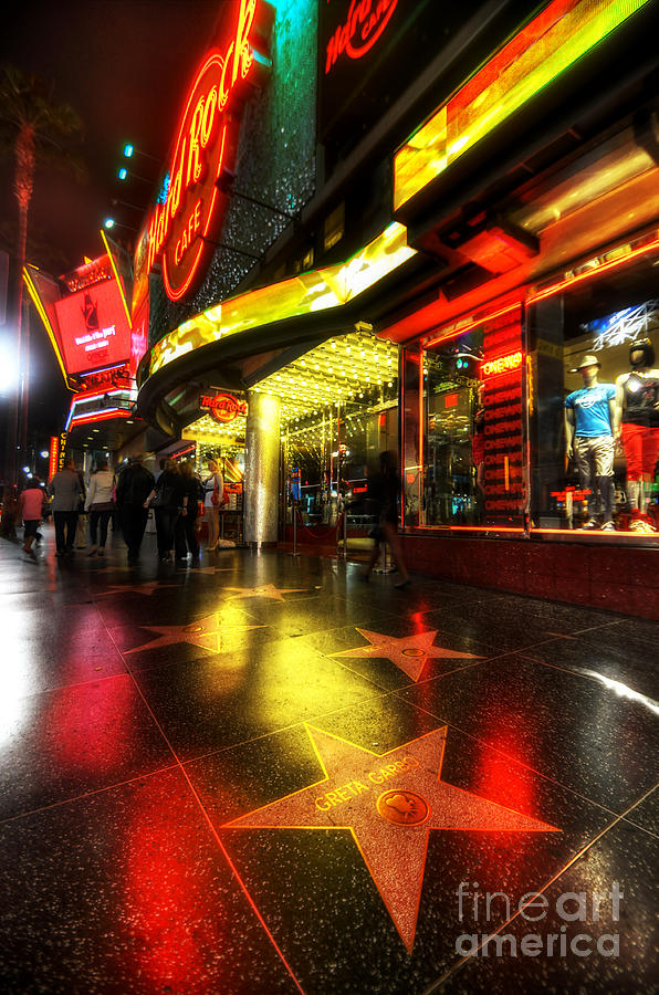 Yhun Suarez Photograph - Walk Of Fame by Yhun Suarez