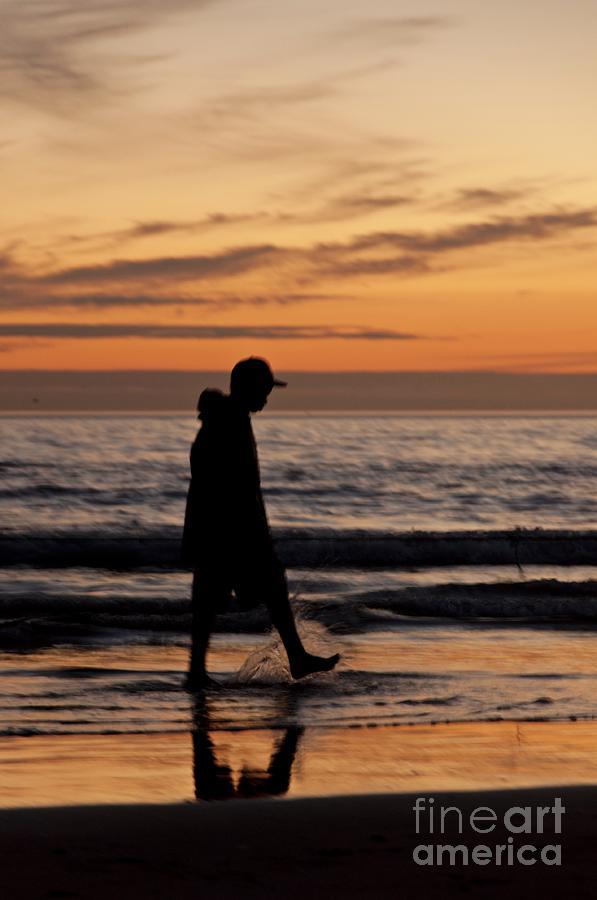 Men Photograph - Walking by Armando Carlos Ferreira Palhau