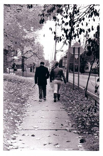 Black And White Photography Photograph - Walking Together by Cecelia Taylor-Hunt