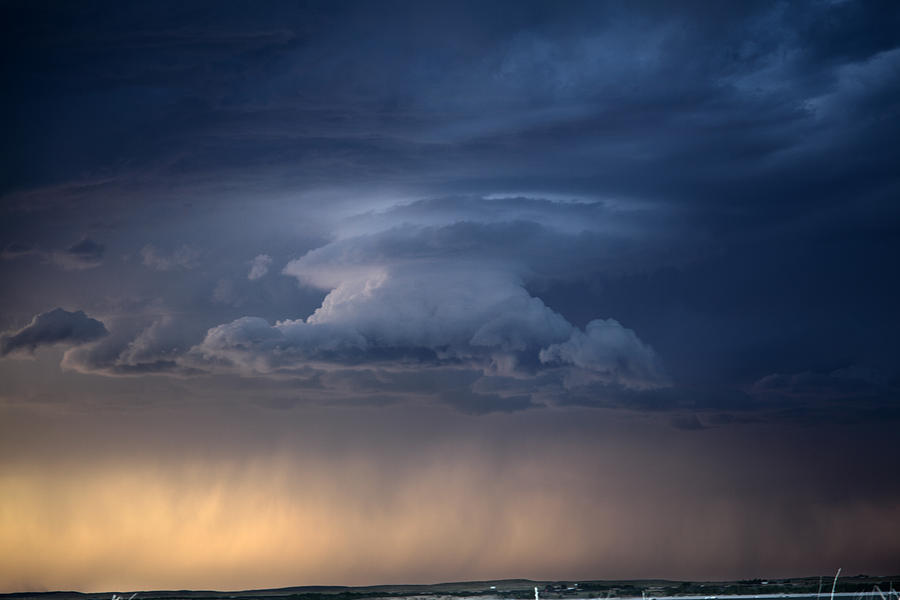 Wall Cloud Photograph - Wall Cloud Convecting by Loren Rye