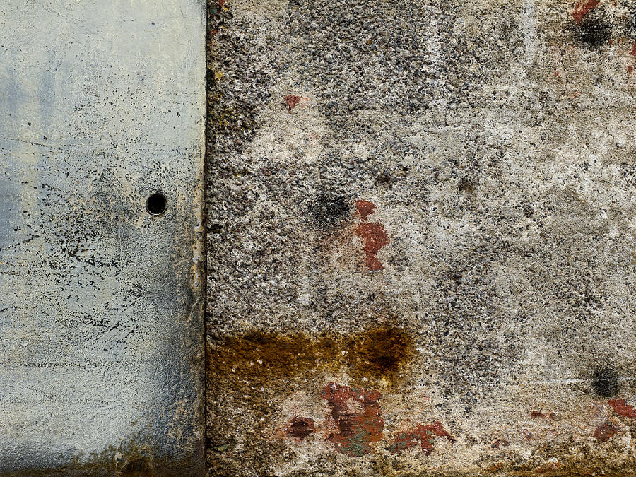 Wall Photograph - Wall Texture Number 10 by Carol Leigh