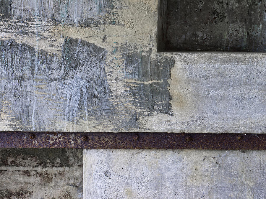 Wall Photograph - Wall Texture Number 12 by Carol Leigh