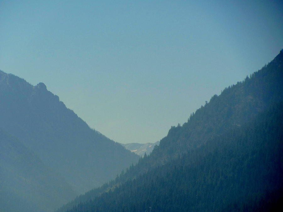 Photograph Photograph - Wallowa Mountains View by Amy Bradley